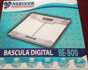 BASCULA ELECTRONICA PERSONAL 28X28 CMS