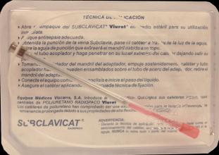 SUBCLAVICAT RADIOPACO VIURET CAL 18