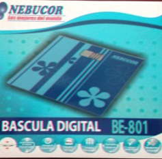 BASCULA ELECTRONICA PERSONAL 30×30 CMS