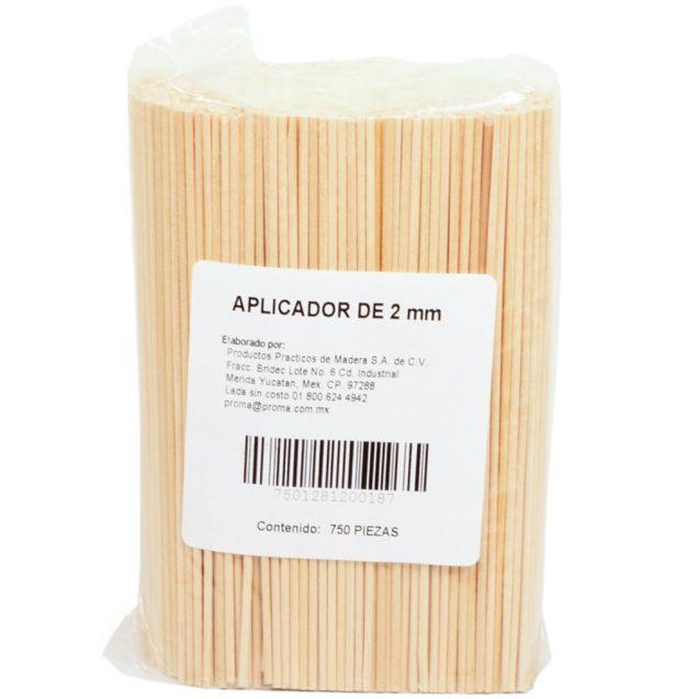 APLICADORES DE MADERA POP C/750