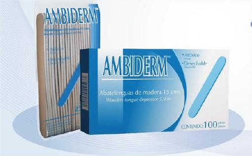 ABATELENGUAS DE MADERA C/100