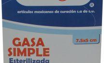 GASA EN SOBRE ESTERIL 7.5X5 C/100