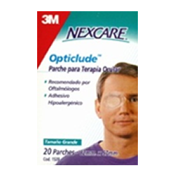 PARCHE OPTICLUDE PARA ADULTO C/20