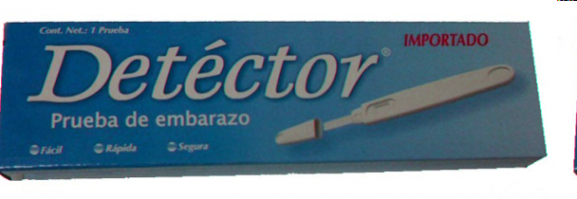 PRUEBA DE EMBARAZO DETECTOR